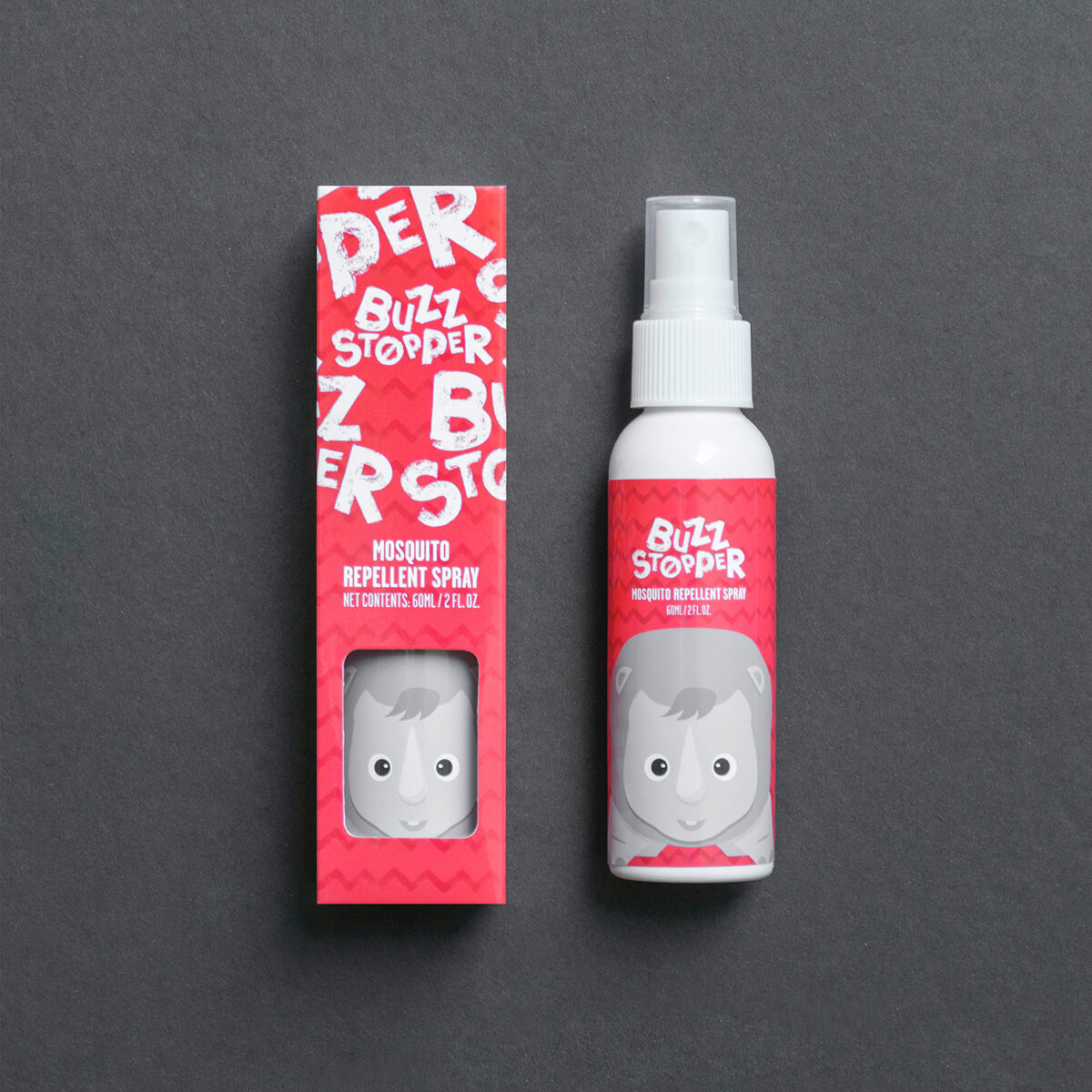 Insect Repellent Spray bottle boxes packaging  14893